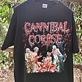 "Cannibal Corpse - TShirt or Longsleeve - Vintage 2004 CANNIBAL CORPSE ""The Wretched Spawn"" European Tour Shirt"