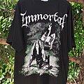 "Immortal - TShirt or Longsleeve - 1999 IMMORTAL ""Winterized  into Demonlands"" Bootleg Shirt"