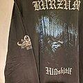 Burzum - TShirt or Longsleeve - Burzum Hliðskjálf long sleeve original licensed 1999