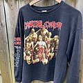 Cannibal Corpse - TShirt or Longsleeve - Cannibal Corpse 1995 Australian The Bleeding tour shirt