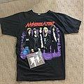 Annihilator - TShirt or Longsleeve - Annihilator Never Neverland World Tour shirt XL