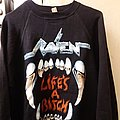Raven - Hooded Top - Raven Life's a Bitch