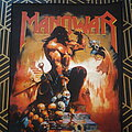 Manowar - Patch - Manowar  - Agony and Ecstasy Backpatch