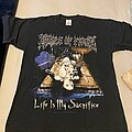 Cradle Of Filth - TShirt or Longsleeve - Cradle of filth- Life is my sacrifice T shirt