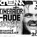 HEADCRASHER - Other Collectable - Thrash Fest - Milano 30th June 1989 (flyer)