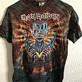 Iron Maiden - TShirt or Longsleeve - Iron Maiden Somewhere In Time Symmetria Tie Dye 1986 Deadstock
