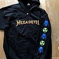 Megadeth - Hooded Top - Megadeth Rust In Peace hooded vest