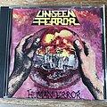 Unseen Terror - Tape / Vinyl / CD / Recording etc - Unseen Terror Human Error original cd