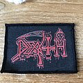 Death - Patch - Death screen printed patch