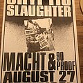 Cryptic Slaughter - Other Collectable - Cryptic Slaughter and Wehrmacht tour poster