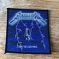 Metallica - Patch - Metallica Ride The Lightning UK patch