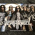 Death Angel - Other Collectable - Signed promo card