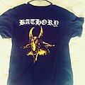 Bathory - TShirt or Longsleeve - Bathory-Self titled yellow goat T-shirt