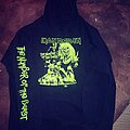 Iron Maiden - Hooded Top - Iron Maiden-Number Of The Beast glow in the dark hoodie
