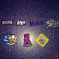 Pantera - Patch - Various metal patches