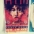 HIM - Other Collectable - HIM-venus doom promotional poster