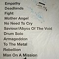 Gamma Ray - Other Collectable - Setlist collection vol-5