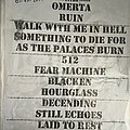 Lamb Of God - Other Collectable - Setlist collection vol-1