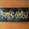 Rotting Christ - Patch - Rotting Christ Logo Patch