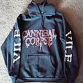 Cannibal Corpse - Hooded Top - Cannibal Corpse Vile (Monolith of Death Tour '96)