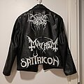 Darkthrone - Battle Jacket - My painted leather jacket #1