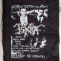 Iskra - Patch - black metal crust - patch