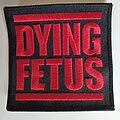 """Dying Fetus - Patch - """"Descend into the Depravity"""" PATCH"""
