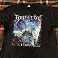 Immortal - TShirt or Longsleeve - Immortal at the heart of winter