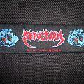 Sepultura - Patch - Sepultura - Schizophrenia (super strip)