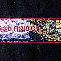 Iron Maiden - Piece of Mind strip Patch