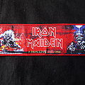 Iron Maiden - A Real Live Dead One strip  Patch