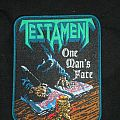 Testament - One Man's Fate  (woven patch)