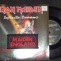 Iron Maiden - Other Collectable - Iron Maiden - Infinite Dreams Vinyl + Patch Maiden England