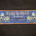 Iron Maiden -  Live After Death strip RB Patch