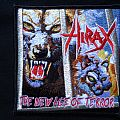 Hirax - Patch - Hirax - The New Age of Terror Patch