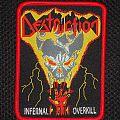 Destruction - Patch - Destruction - Infernal Overkill (Red borders)