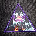 Dark Angel - Darkness Descends (triangle purple borders) Patch