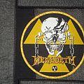 Megadeth - Patch - Megadeth - Circular Yellow Logo