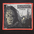 Iron Maiden - Virus - Red Borders Patch
