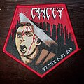 Cancer - Patch - Cancer To The Gory End Patch