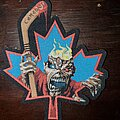 Iron Maiden - Patch - Iron Maiden Canada Flag Patch