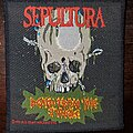 Sepultura - Patch - Sepultura Death From The Jungle Patch
