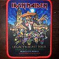 Iron Maiden - Patch - Iron Maiden Legacy of the Beast Patch Mexico