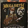 Megadeth - Patch - Megadeth - So Far.. So good.. So what