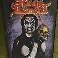 King Diamond - Patch - King With Skull Backpatch