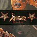 Venom - Patch - Venom - Welcome to Hell - Stripe