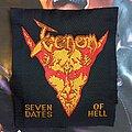 Venom - Patch - Venom - Seven Dates of Hell No border....