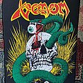 Venom - Patch - The mighty Venom Snake and Skull BP