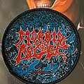 Morbid Angel - Patch - Morbid Angel - 1991 - Altar of Madness - Official Round Woven Patch