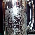 Other Collectable - IRON MAIDEN - Killers Glass Beer Mug DIY